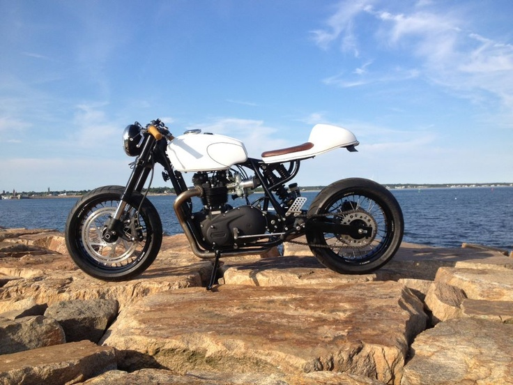 Sent in by one of our early followers who started this build at the same time we started Iron & Air. Cool as we both watched each other's progress and see where we've ended up. BSA/Triumph mashup by Choppahead Kustom Cycles (CHKC) - who likes?