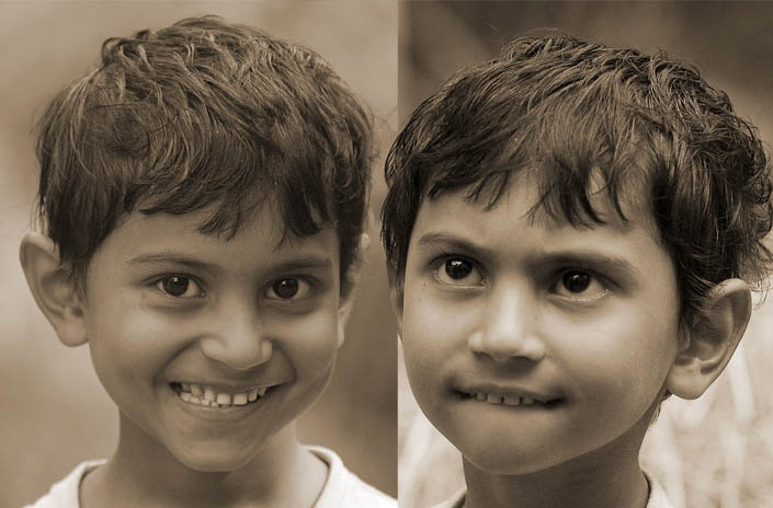 A small boy with big dreams. Village of Bamrail, near Barisal, southern BANGLADESH