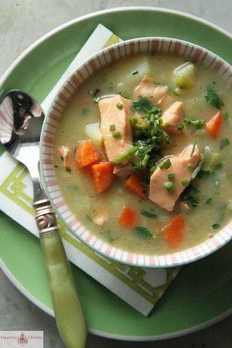 Salmon Chowder | Recipe