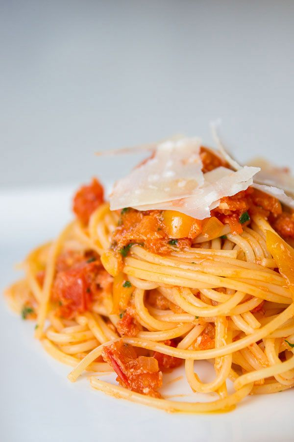 Crab Pasta and Tomato Sauce. made this tonight (03/15/12)...it was ...