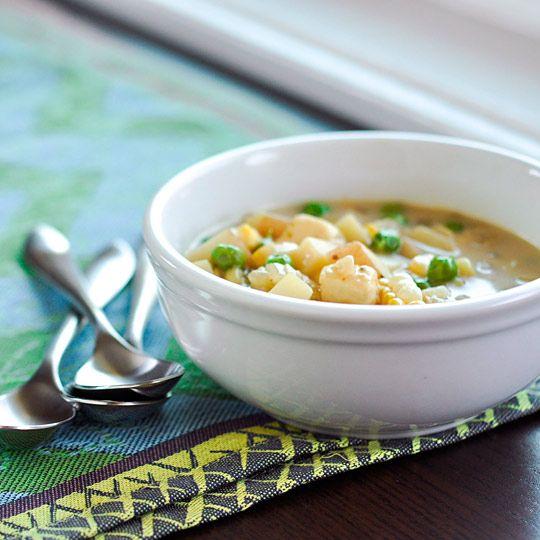 The Kitchn/Locro de Papa soup (Andean cheese and potato)