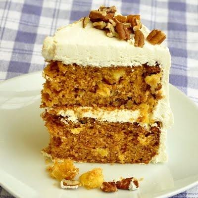 Pineapple Pecan Carrot Cake | let them eat cake | Pinterest
