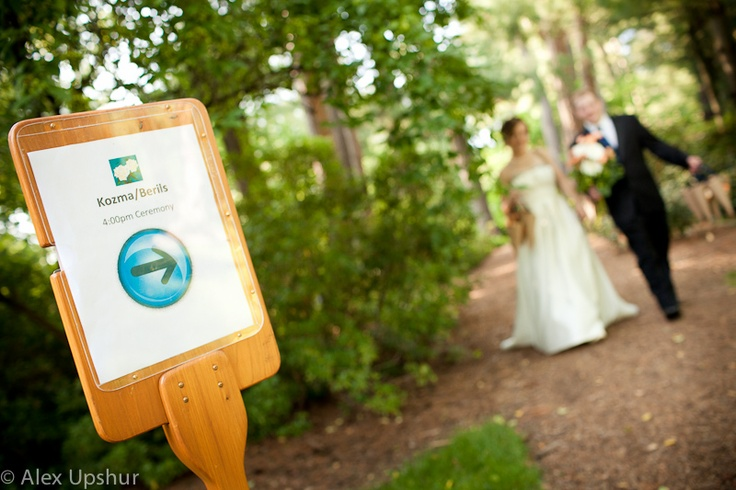 Dow Gardens Outdoors Ceremony
