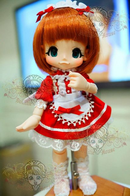 Kinoko Juice 'Kiki' doll, manufactuered by Mandrake in Japan