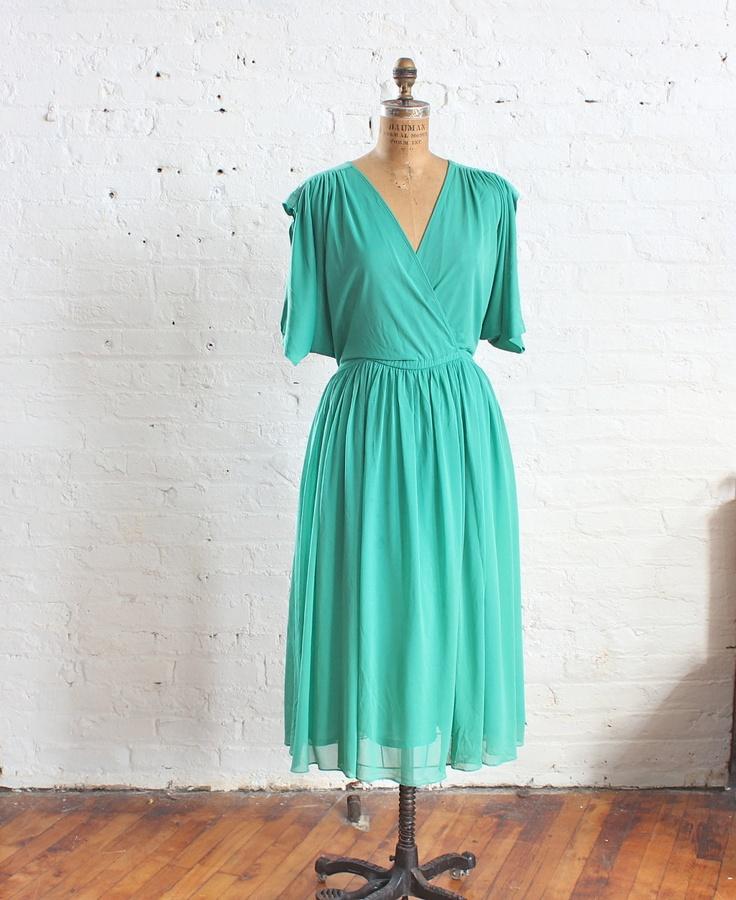 Cheap Plus Size Mint Green Dress - Holiday Dresses