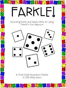 This is one of my favorite games...here is a recording sheet to help students keep track of their scores!