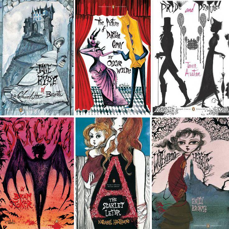 Penguin Classics Book Cover Art : Penguin classics ruben toledo book covers b o k y w