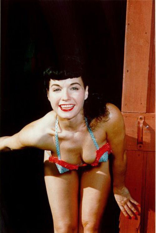 Style inspiration: Bettie Page