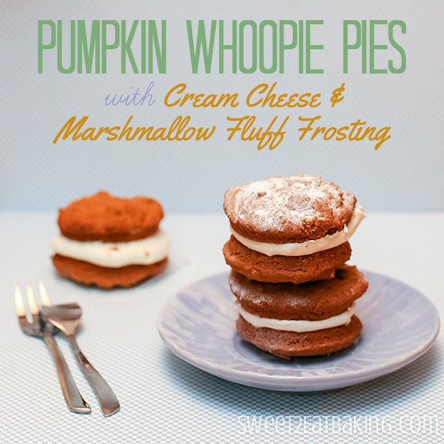 whoopie pies pumpkin whoopie pies with maple marshmallow cream filling ...