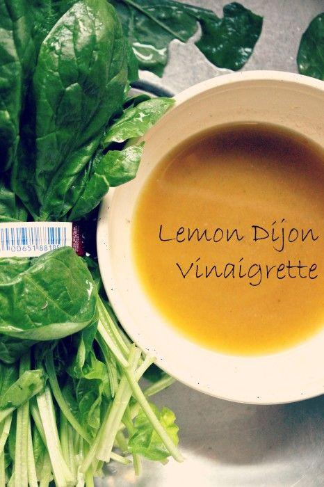 Lemon Dijon Vinaigrette | Recipes to try | Pinterest