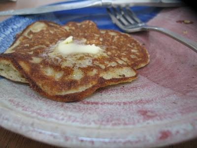 Wild Rice Flour Pancakes, by Heidi Swanson