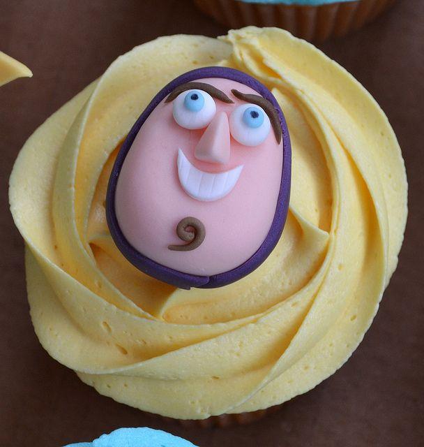 Toy Story cupcakes - Buzz Lightyear | Flickr: Intercambio de fotos