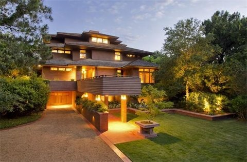 Frontdoor Awesome With Frank Lloyd Wright Inspired Homes Image