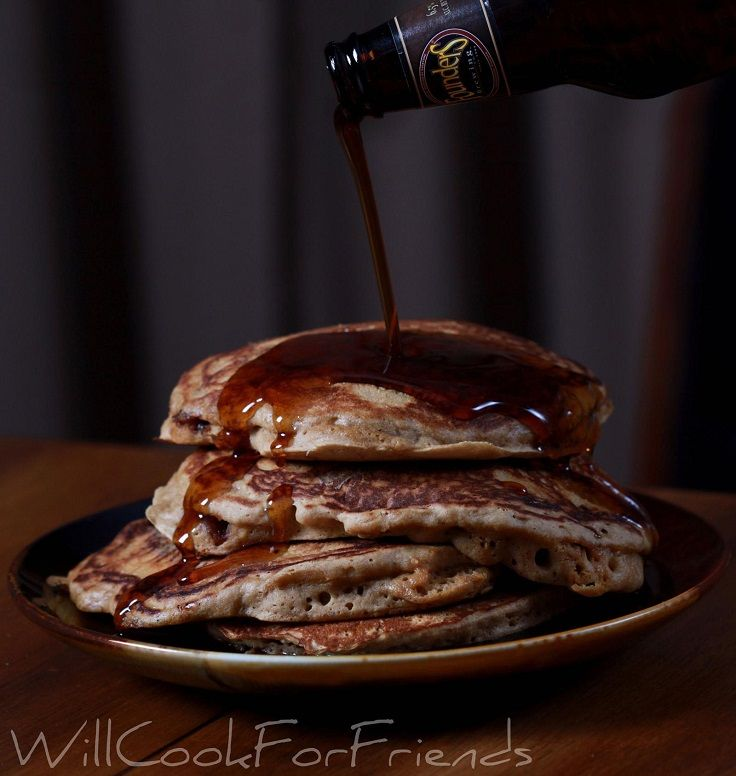 Beer and Bacon Mancakes | Favorite Recipes | Pinterest