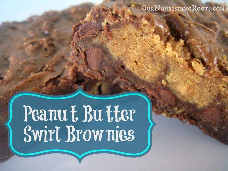 peanut butter swirl brownies | Recipe Ideas for Sierra Leone | Pinter ...
