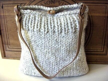 Плетена дамска чантичка