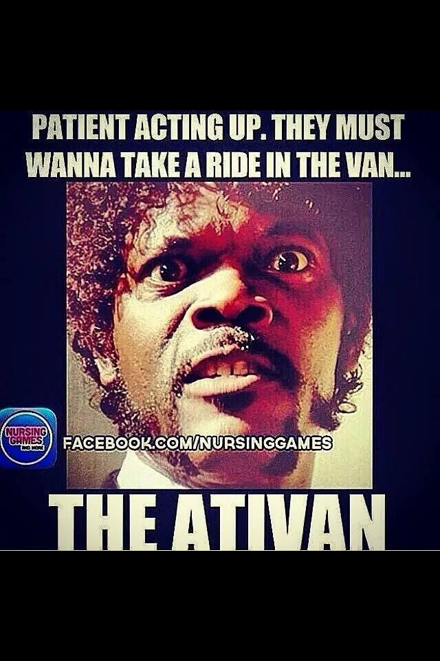 how to give ativan im