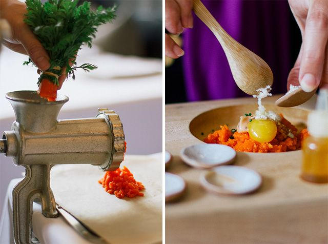 Eleven Madison Park Granola // .wandercrush. Carrot tartare
