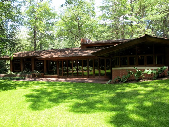 Pin By James Butler On Frank Lloyd Wright Usonian Homes