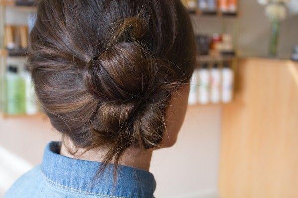 One of our favorite, super-easy bun DIYs.