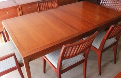mid century modern drexel counterpoint dining room set 1950 39 s ebay
