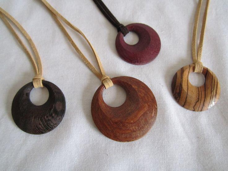 Wood pendant necklaces | Ideas for Me | Pinterest