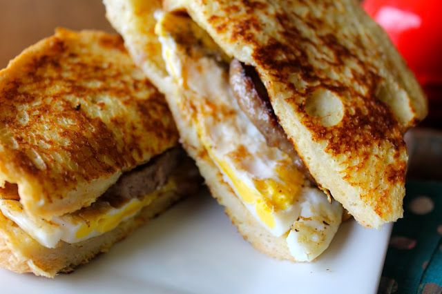 French Toast Breakfast Sandwich | Breakfast - French Toast | Pinterest