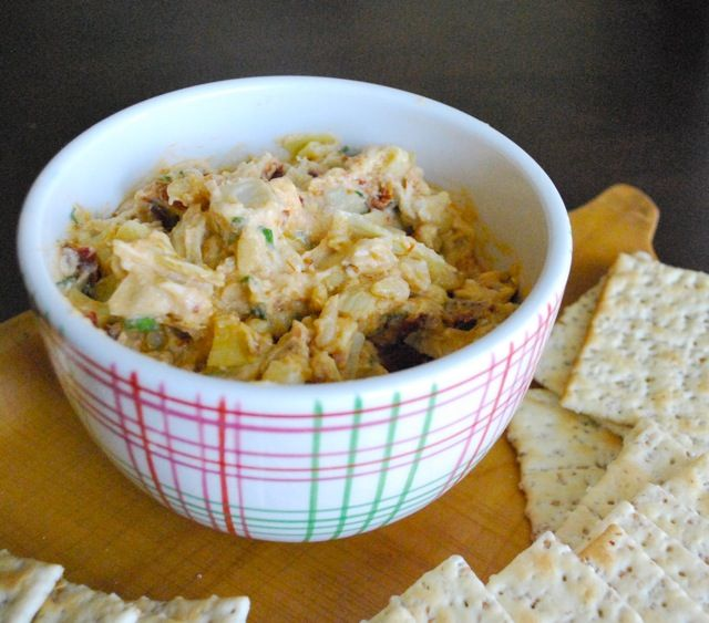 Sun Dried Tomato and Artichoke Dip