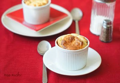 Manchego Cheese Souffle