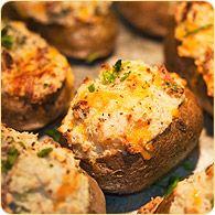 Stuffed baby Potatoes :)   Scrumdidleumscious Food ♥   Pinterest