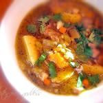 Roasted Hatch Chile Stew Recipe with Sweet Potato, Corn + Lime