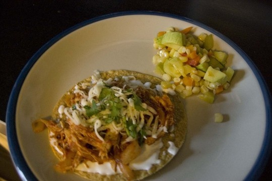 Kathleen's Chicken Tinga Tostadas QUICK WEEKNIGHT MEALS RECIPE CONTEST ...