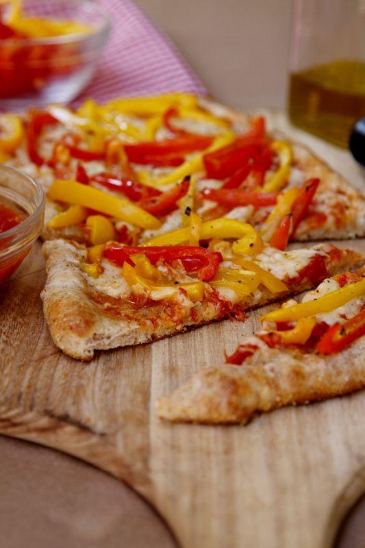 Pepper Pizza #pizza #vegetarian