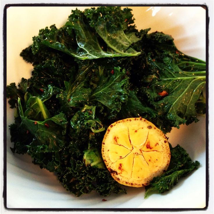 Lemon-Garlic Kale Saute Recipes — Dishmaps