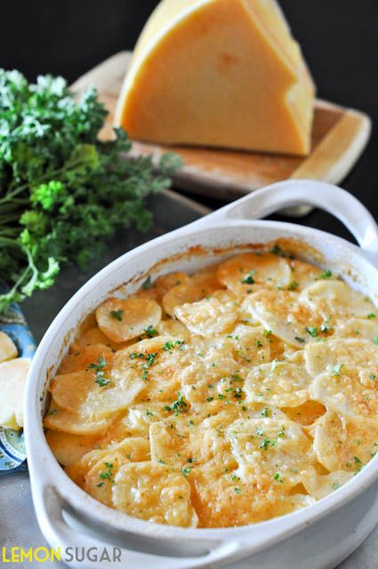 cheesy # potato gratin # sides