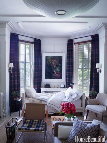"Ralph Lauren's window designer Zach Motl's small space motto? ""It's about making one room feel like five. It's about how you arrange the furniture, and how the pieces play off one another."" 