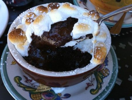 Baked Hot Chocolate Chaud | Chocolate Heaven | Pinterest