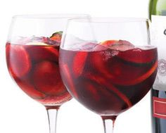Spring Sangria with Macerated Fruit via LCBO