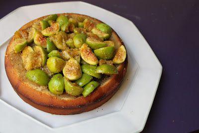 Life's Too Short to Skip Dessert: Rosemary Orange Honey Fig Cake