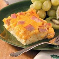 HAM CHEESE STRATA | RECIPES | Pinterest
