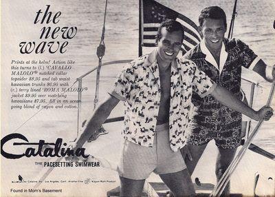 Men vintage ad catalina mens cabana wear 1964 found in moms