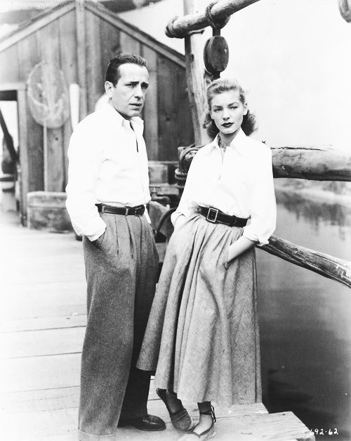 Humphrey Bogart and Lauren Bacall - Key Largo (John Huston, 1948)