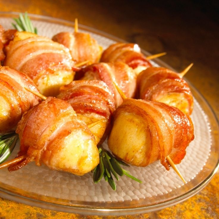 ... baked bacon wrapped scallops.. Baked Bacon Wrapped Scallops Recipe