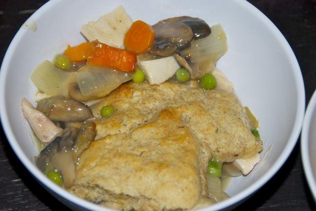 Chicken Pot Pie with Biscuit Crust | Jess Fuel - Dinner - Chicken & P ...