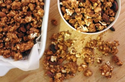 Salted Caramel Almond Popcorn | Candy Truffles and Balls | Pinterest