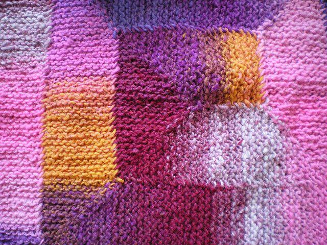 Knitting Blanket Stitch : Ten Stitch Blanket pattern by Frankie Brown