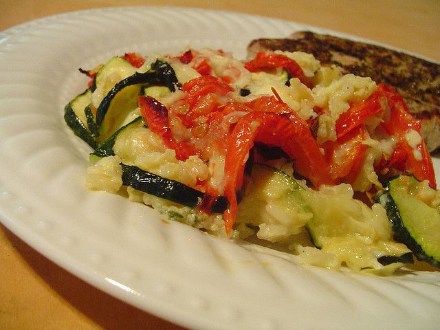 zucchini rice gratin by Elly Says Opa | Side Dishes | Pinterest