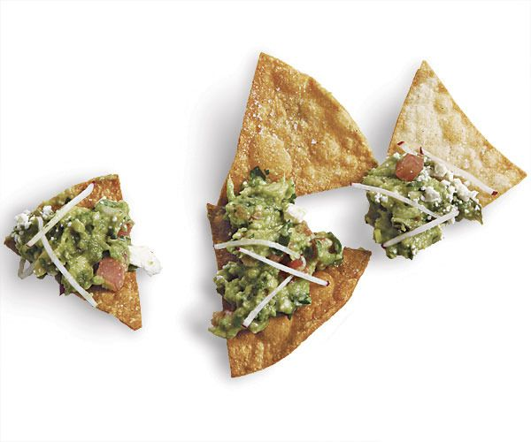 Guacamole with Roasted Chile, Cumin, and Feta by Fine Cooking