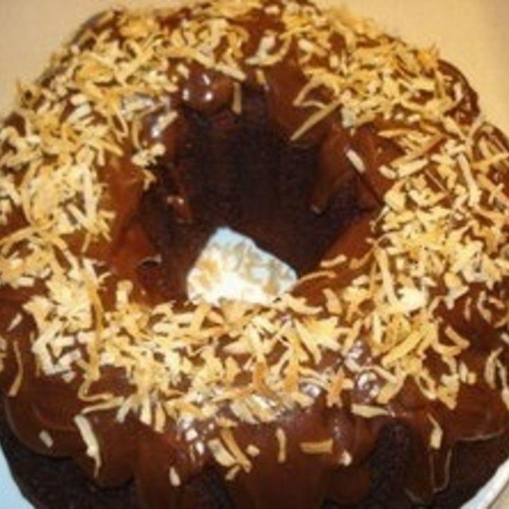 Inside Out German Chocolate Bundt Cake Recipe