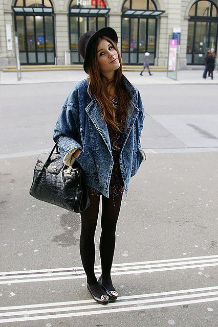 denim jacket outfits tumblr - photo #19